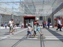 Fotografie, Schweiz, Bahnhof, Bern