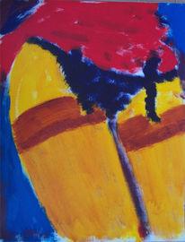 Skizze, Nylon, Acrylmalerei, Malerei