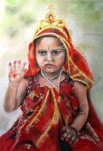 Durga, Indien, Agra, Puja