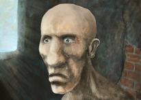 Malerei, Gesicht, Alter, Portrait