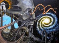 Wahrnehmung, Universum, Malerei, Entrückung