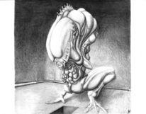 Surreal, Morrigu, Wesen, Zeichnung