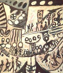 Gemälde, Begebenheit um 17, Malerei, Holocaust