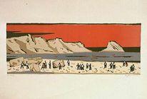 Menschen, Meer, Strand, Mediterrane landschaften