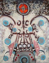 1979, Gemälde, Symbol, Rot