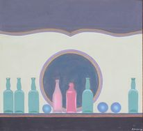 Expressionismus, Stillleben, Flasche, Impressionismus