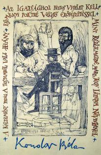 Grafik, Szigetszentmiklós, Illustration, Kondor