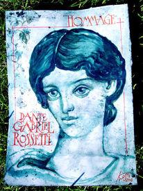 Dante, Grafik, Illustration, Rosetti