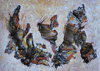 Acrylmalerei, Traum, Karton, Malerei