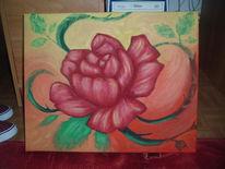 Rose, Figural, Malerei, Pflanzen