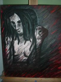 Mann, Malerei, Dreads, Figural