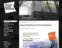 Malworkshop, Aquarellmalerei, Kunsthalle, Rostock