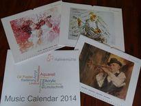 Hahnemühle, Kalender, 2014, Pinnwand