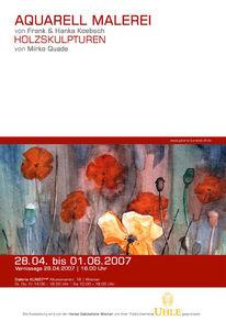 Mohn, Vernissage, Wismar, Ausstellung