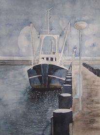 Ostsee, Boot, Fischer, Rügen