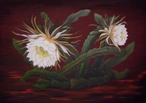 Kateen, Stillleben, Blüte, Malerei