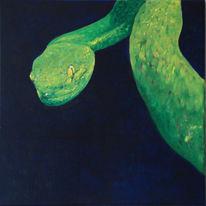 Schlange, Malerei, Surreal