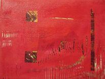 Malerei, Abstrakt, Acrylmalerei