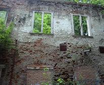 Fenster, Ziegel, Fotografie, Architektur