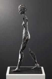 Metall, Figural, Weiblich, Skulptur
