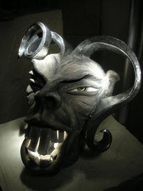 Keramik, Kunsthandwerk, Lampe