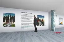 Ausstellung, Schachbrett, Virtuelletour, Pano