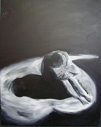 Leid, Depression, Liebe, Figural