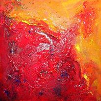Farben, Seele, Feuer, Malerei