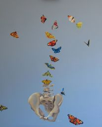 Farfalle, Schmetterling, Figural, Bauch