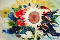 Malerei, Malen, Aquarellmalerei, Surreal