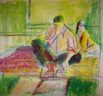 Nabuaki, Malerei,