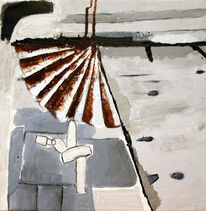 Abenstimmung, Abstrakt, Kwai, Malerei