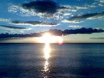 Reiseimpressionen, Meer, Sonnenuntergang, Fotografie