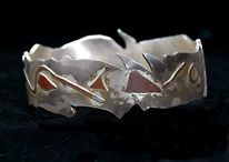 Schmuck, Silber, Design