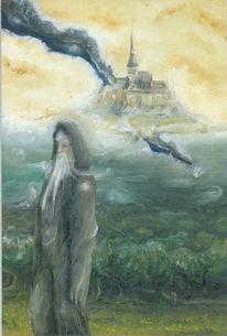 Surreal, Merlin, Druide, Fantasie