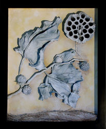 Surreal, Blätter, Baum, Natur