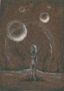 Kunsthandwerk, Frau, Traum, Akt