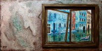 Venedig, Malerei, Acrylmalerei, Landschaft