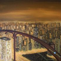 Einsamkeit, Stadt, Landschaft, Licht