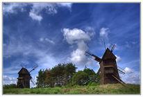 Canon, Windmühle, Landschaft, Pol