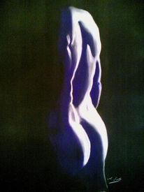 Schatten, Mann, Zeichnung, Akt