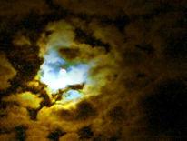 Wolken, Mond, Licht, Nacht