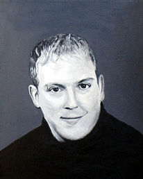 Malerei, Portrait, Figural, Acrylmalerei