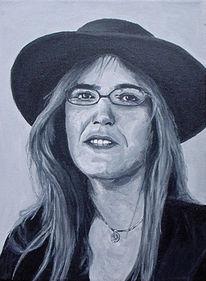 Portrait, Inspiration, Figural, Acrylmalerei
