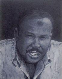 Figural, Portrait, Luxor, Acrylmalerei