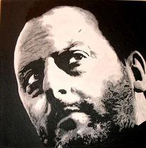 Figural, Acrylmalerei, Portrait, Malerei