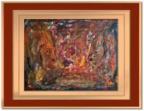 Unterbewustsein, Abstrakt, Tellerrand, Malerei