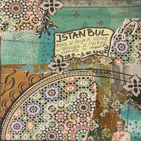 Türkischer kaffee, Moschee, Palast, Collage