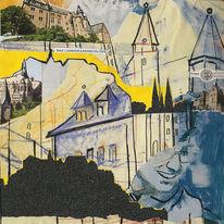 Freier blick, Reisetagbuch, Schloss, Romantisch