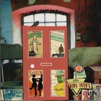 Telefonzelle, Schilf, Schottland, Tür